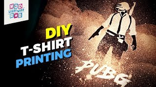PubG | How to Design Custom T-shirts with Bleach | DIY | Goku Giveaway Winners in description