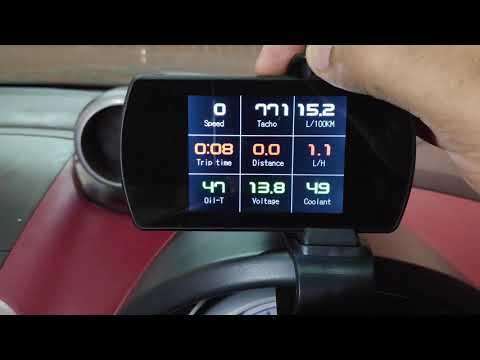 GearBest com] P12 Smart OBD Head Up Display For Car Dash
