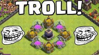 TROLL VERTEIDIGUNG! || CLASH OF CLANS || Let's Play CoC [Deutsch/German HD+]