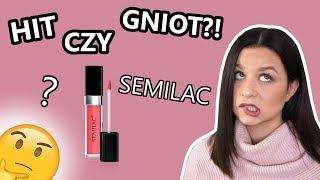 Test pierwsze wrażenie pomadek Semilac | HIT czy GNIOT?!