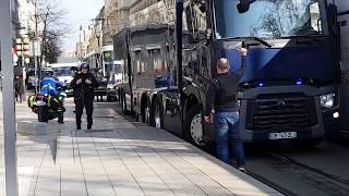 Un convoi de la banque de France bloqué à Saint-Etienne