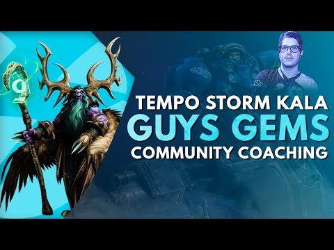 Kala's Community Coaching with Guys Gems, an amateur team – Infernal Shrines | Heroes of the Storm