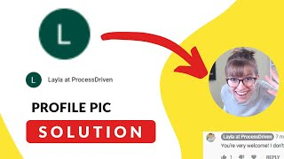 SOLVED: GSuite Profile Picтure doesn't show up in Comments | Stop Just Seeing Default Initial