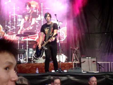 Marianas Trench in Edmonton @ Ed Fest - July 21 2009