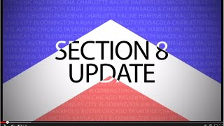 Section 8 Update for 11-12-2014 from Affordable Housing Online