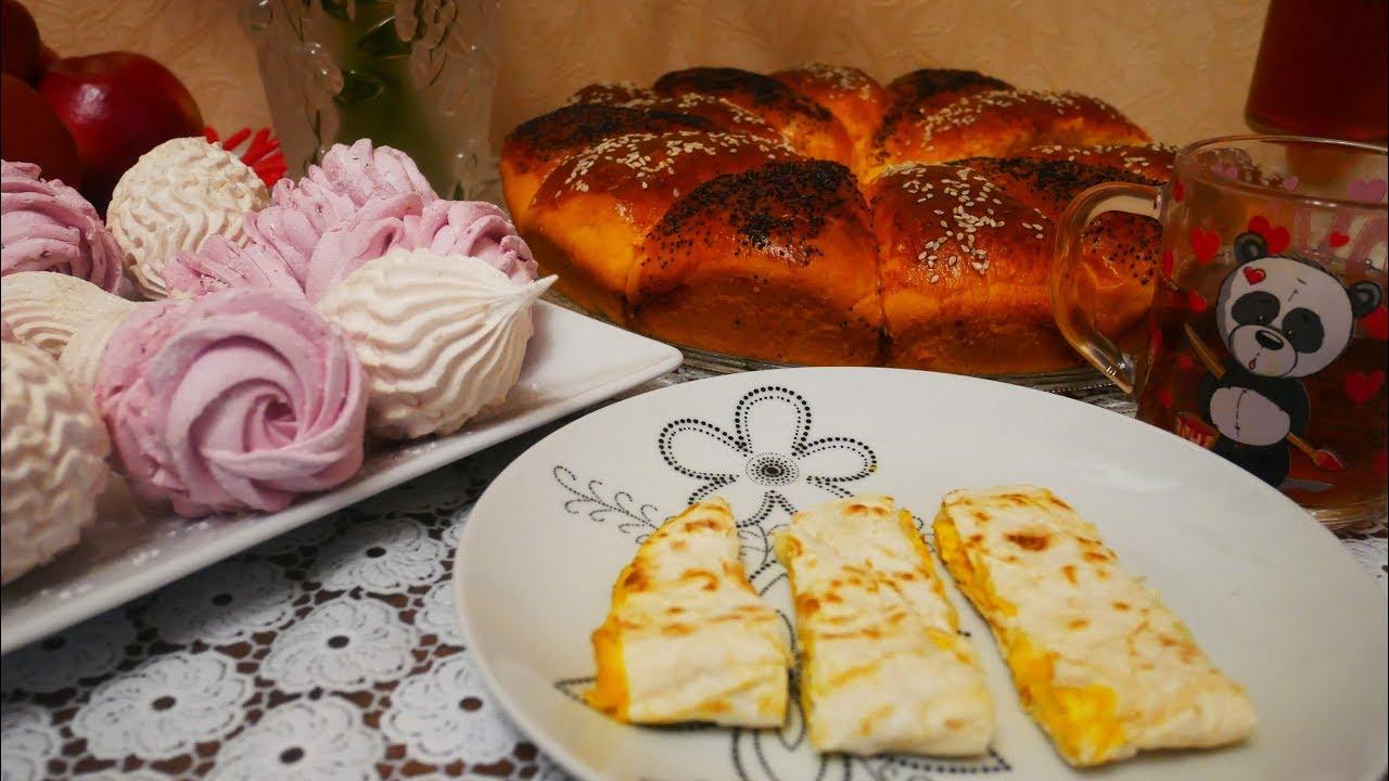 РЕЦЕПТЫ и ДЕГУСТАЦИЯ лучших завтраков!!!! МЕГА быстрый СЕНДВИЧ из лаваша и Пицца на сковороде
