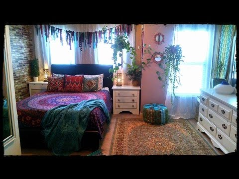 Awesome Bohemian Gypsy Bedroom Tour
