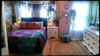 Bohemian Gypsy Bedroom Tour