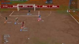 Kicks Online Soccer Match