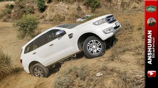 Storme(with Army spec suspension), Endeavour, Pajero Sport, V-Cross: Weekend Offroading