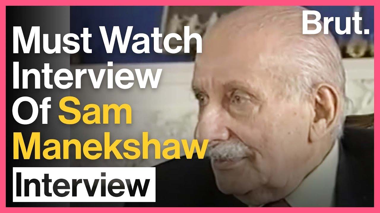 The MAN In Sam Manekshaw