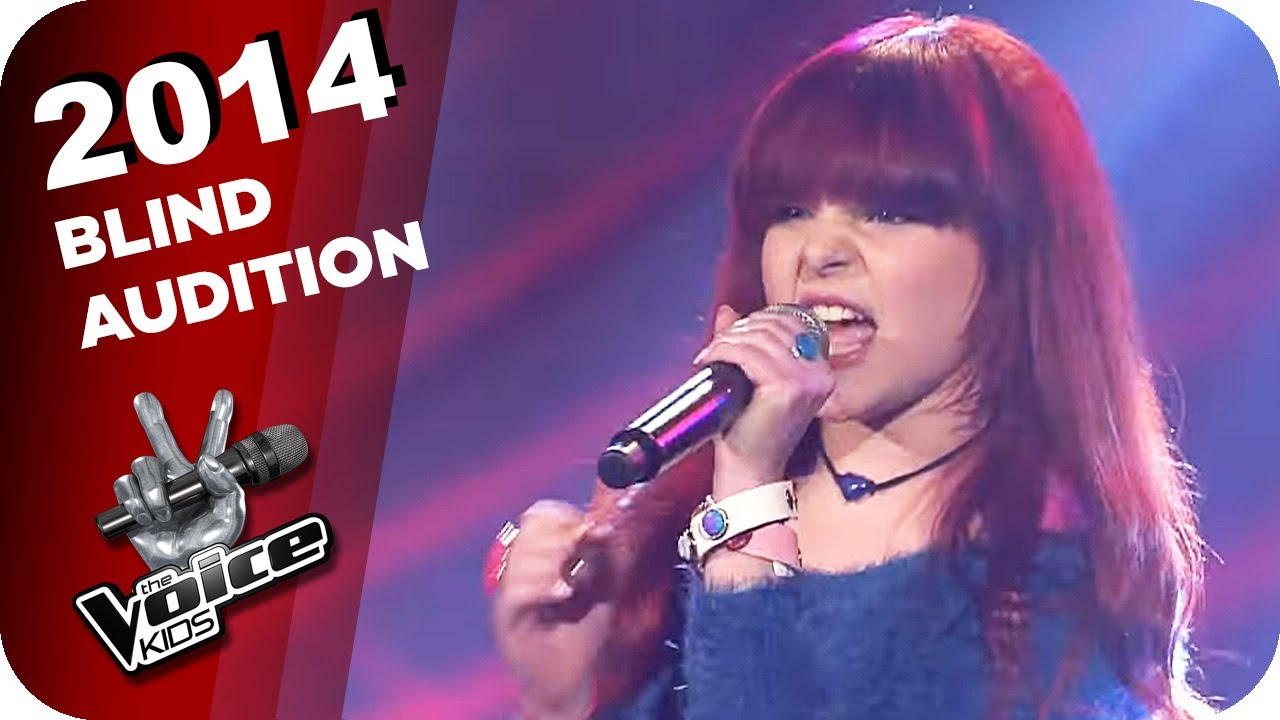 Joss Stone - While You´re Out Looking for Sugar (Carlotta) | The Voice Kids 2014 | Blind Auditions