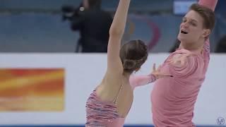 Александра Бои кова Дмитрии Козловскии КП ЧЕ 22 01 2020