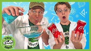 T-Rex Ranch Science for Kids! Fun Educational DIY Science Experiments to Do at Home! Home Learning