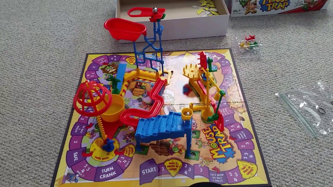 How To Make The Hasbro Mouse Trap Game Work Correctly Youtube