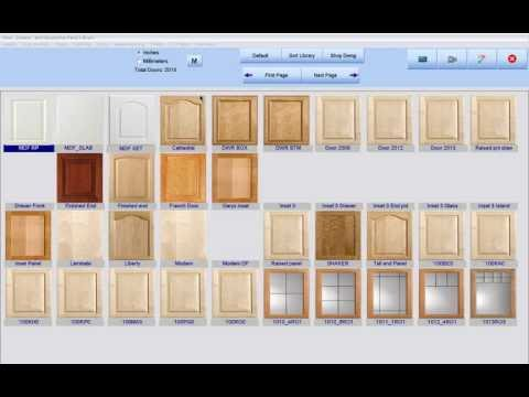 Cabinet Pro Software: MDF Doors - YouTube