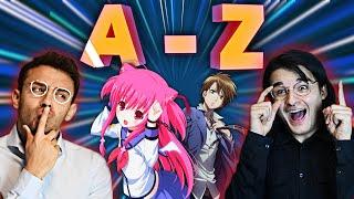 ANIME A-Z CHALLENGE! (+Bestrafung) | AnimeBros