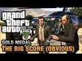 GTA 5 Mission 79 The Big Score Obvious 100 Gold Medal Walkthrough mp3