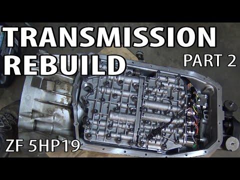 E46 ZF 5HP19 Transmission Rebuild Part 2 BMW 330i 325i