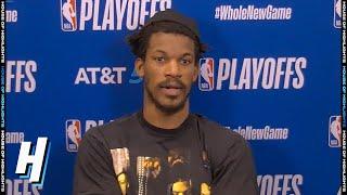 Jimmy Butler Postgame Interview - Game 3   Bucks vs Heat   September 4, 2020 NBA Playoffs