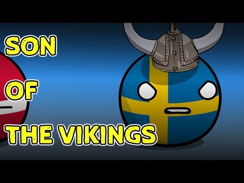 Sweden and WW2 - Countryballs