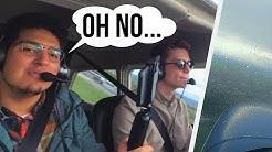 BÖEN im Abflug -  VFR Flug bei schlechtem Wetter