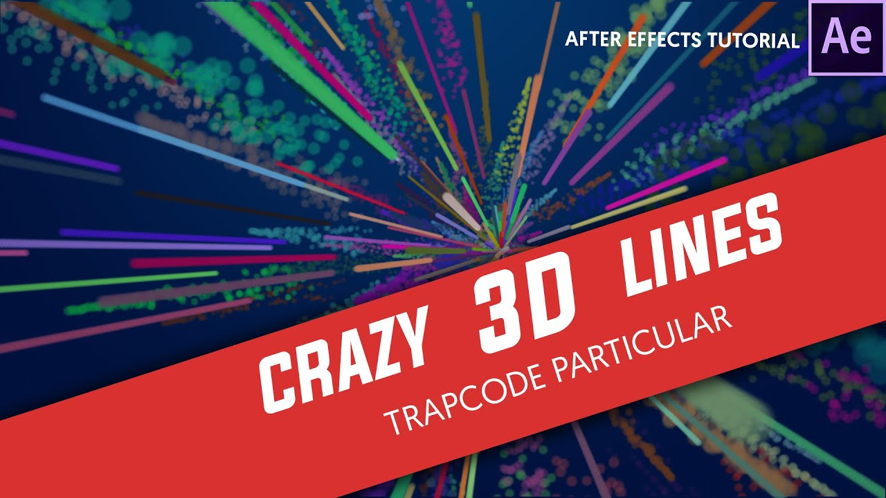 Line Art In After Effects : After effects tutorials crazy d stroke with trapcode