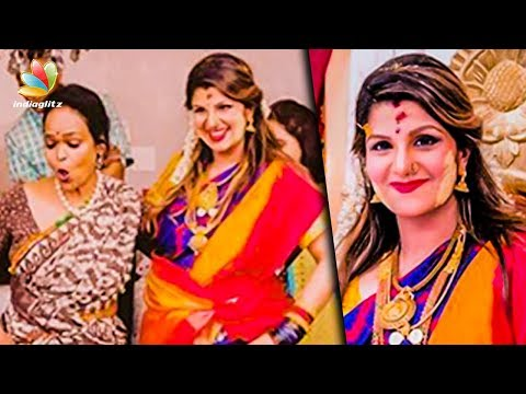 Rambha's Third Baby Shower | Family Photos & Videos | Latest Tamil Cinema News