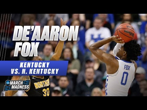 Kentucky's De'Aaron Fox scores 19 points in win vs. the Norse