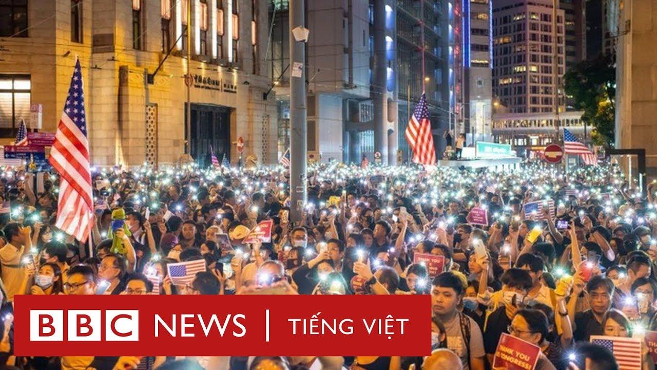 Hạ viện Mỹ thông qua Dự luật Dân chủ và Nhân quyền Hong Kong - BBC News Tiếng Việt