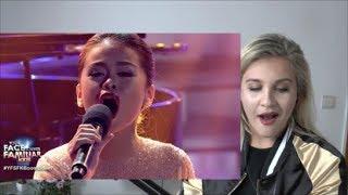 Vocal Coach  | Reaction& Analysis |   ESANG- LEA SALONGA |  ON MY OWN