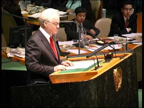 Churkin Rebukes Qatari UN Rules Violations