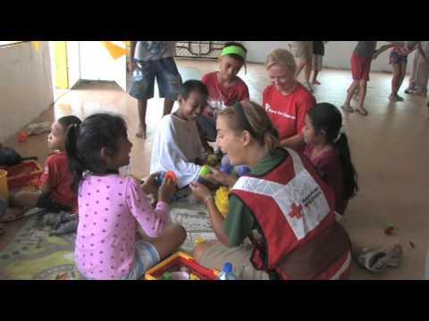 Pacific Islands Tsunami (October 2009): Volunteers In American Samoa Focus on Children