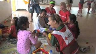 Pacific Islands Tsunami (October 2009): Volunteers In American Samoa Focus on Children