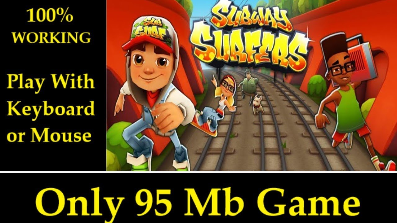 subway surfers game for pc free download full version keyboard