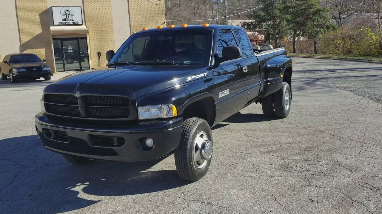 1999 Dodge Ram 3500 5 9 Mins Sel Laramie Black On Leather 120k For Clean 2nd Gen