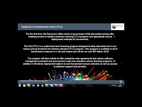 New Government offering from Adobe - Webinar
