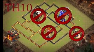 NOVO LAYOUT CV10 PARA GUERRA 2017 (NEW LAYOUT TH10 WAR BASE 2017)