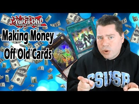 Making Money Off Old Yugioh Cards!