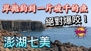 流水一到就是竿竿咬岸拋還釣到一斤破千的稀有深海魚不誇張大凹到想回家RARE fish caught from land/Shore jigging in Taiwan