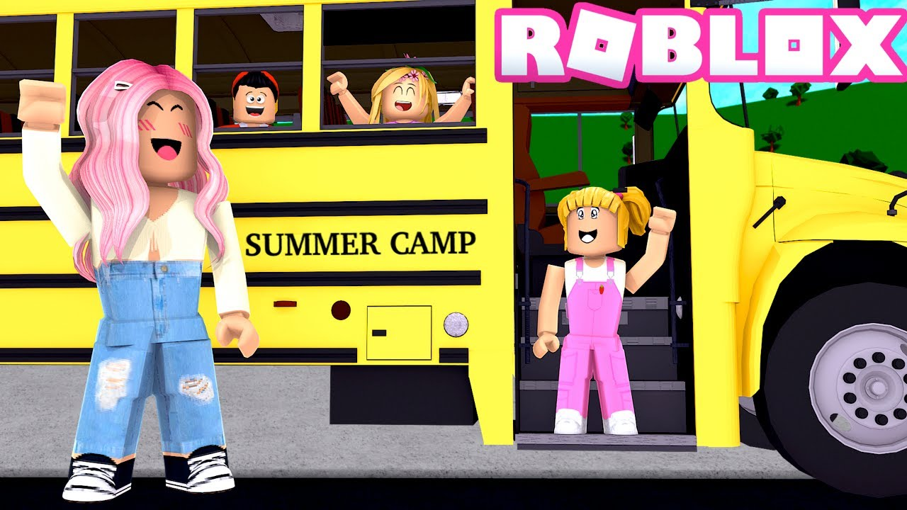 Mi Hija Goldie va a un Campamento de Verano - Historia de Roblox