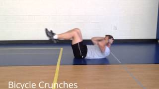 StewSmith Fitness Library:  Bicycle Crunches