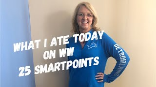 What I ate today on WW - Weight Watchers - April 3, 2019