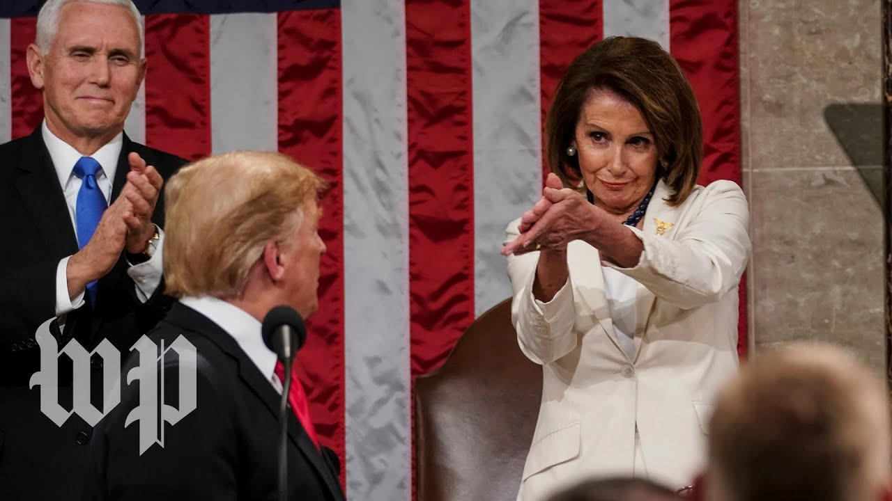 Democrats kept throwing shade at Trump during the State of the Union