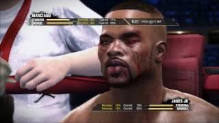 Fight Night Champion - Bare Knuckles Mode - Rocky Marciano vs Roy Jones Jr   FAIL!! (at pro).✔