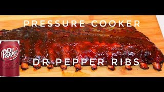 Dr Pepper Baby Back Ribs - Electric Pressure Cooker Recipe