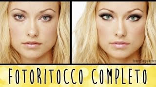 ♥ TUTORIAL RITOCCO COMPLETO - PHOTOSHOP CS6 ♥
