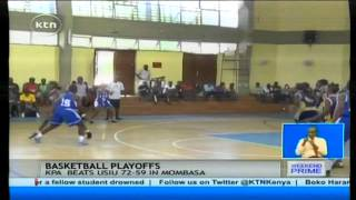 Basketball: Africa Zone Five Basketball Champions USIU loose to Kenya Ports Authority