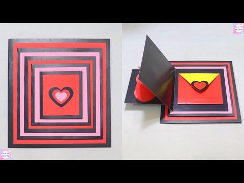 DIY Maze Card Tutorial   Handmade Card Idea / Scrapbook Card / / DIY Scrapbook Tutorial