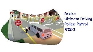 Roblox: Ultimate Driving | Police Patrol #050 | Grenzpatrouille und mehr! | [Huski/German]